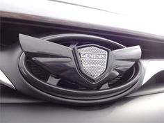 Hyundai Genesis Coupe Wing Emblem Kit - Gloss Black (G041)   Hyundai Genesis Coupe Accessories   Hyundai Genesis Coupe Parts   Hyundai Shop
