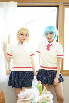 Fuwari and Dorothy Cosplay Pripara cosplay