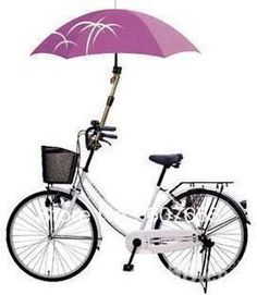 New Bicycle Umbrella Stands Connector Holder Rack Stroller / Pram wheelchair / Bike Umbrella Frame free shipping $15.25