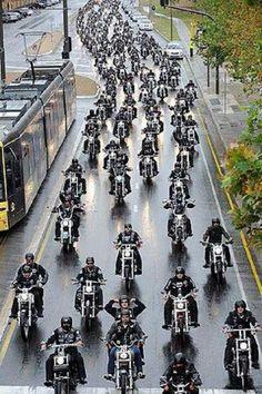 Looking forward to a ride. Custom Motorcycles, Custom Bikes, Scooters, Moto Logo, Motos Harley Davidson, Motorcycle Clubs, Biker Clubs, Biker Quotes, Hells Angels