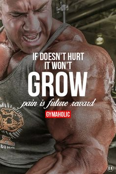 Gymaholic motivation. Daily fitness motivation in order to achieve your goals in the gym. Whether you want to build muscle or lose fat, we will help you.