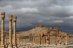 ISIS Blows Up Ancient Temple at Syria's Palmyra Ruins - now part of it is gone.