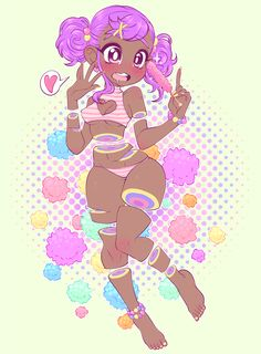 Demon Girl Adoptable - Auction - Closed by Milkcubus on DeviantArt Cute Art Styles, Cartoon Art Styles, Anime Kawaii, Kawaii Art, Personajes Monster High, Pastel Goth Art, Candy Gore, Black Art Pictures, Black Anime Characters