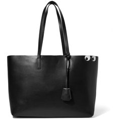 Anya Hindmarch Ebury Shopper embossed leather tote (61.920 RUB) ❤ liked on Polyvore featuring bags, handbags, tote bags, black, embossed leather handbags, embossed leather tote, shopper tote bag, tote purses and leather tote bags