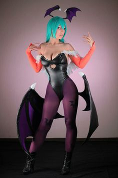 Cosplayer: Dalin Cosplay Character: Morrigan From: Darkstalkers Photographer: Cato Kusanagi Country: Mexico https://www.facebook.com/DalinCosplay https://www.facebook.com/SCGcosplay