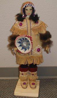 Athabascan doll by Ellen Savage