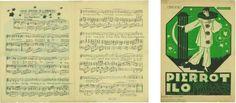 """Ivo Tijardović. Moja pjesma je ljubavna : pjesma Ila iz operete """"Pierrot Ilo"""" / libreto sastavio i uglazbio Ivo Tijardović. – Split : [vlast. nakl.], 1922."""