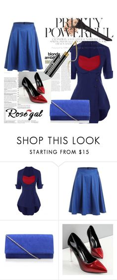 """Rosegal 23"" by nedim-848 ❤ liked on Polyvore featuring vintage"