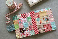 Clubinho da Costura: Para Inspirar - Livro de agulhas feito com retalhos