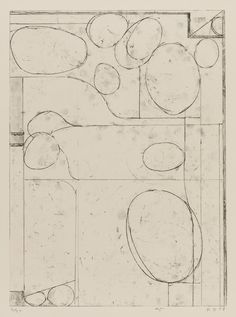 Richard Diebenkorn, #5 from Six Softground Etchings, 1978 SFMOMA