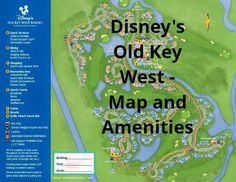 Disney Vacation Club (DVC):  Amenities at Disney's Old Key West Resort | yourfirstvisit.net  #DVC #DisneyVacationClub #DisneysOldKeyWestResort