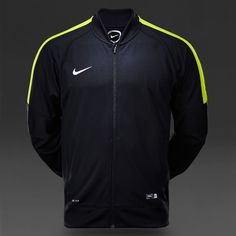 Nike Kids Squad 15 Sideline Woven Jacket - Black/Volt