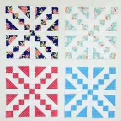 The start! . . #showmethemoda #modafabrics #showmethebellas #bellasolids #summerlove #colorlove #figtreeandco #figtreequilts #quilt #quilts #quilting #patchwork #scrappyquilt #aurifil