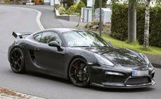 Porsche Cayman R in The Works
