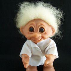 """Original Troll Doll Thomas Dam 9"""" Denmark 1977"""