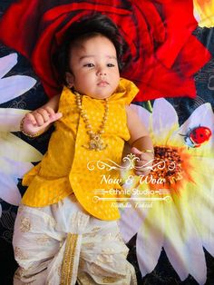 Indian Dresses For Kids, Kids Indian Wear, Indian Boy, Baby Boy Fashion Clothes, Baby Boy Outfits, Kids Outfits, Kids Fashion, Kids Party Wear Dresses, Kids Dress Wear