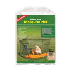 Coghlan's Double Mosquito Net, Green