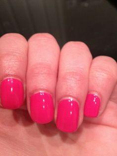 Jessica GELeration in Raspberry. Bright Spring, Spring Colors, Spring Flowers, Raspberry Nails, Jessica Geleration, Nail Colors, Colours, La Nails, Spring Blossom