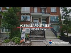 978 Millard Street, Stouffville Presented By The Trentadue Torres Group Townhouse, Multi Story Building, Real Estate, Layout, Group, Street, Real Estates, Terraced House, Page Layout