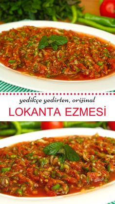 Yedikçe yedirten lezzet Lokanta Ezmesi (videolu) The flavor that feeds as you eat is Restaurant Paste (with video) the Pasta Recipes, Salad Recipes, Yummy Recipes, Light Summer Dinners, Cottage Cheese Salad, Fingerfood Party, Salad Dishes, Fast Food, Healthy Comfort Food