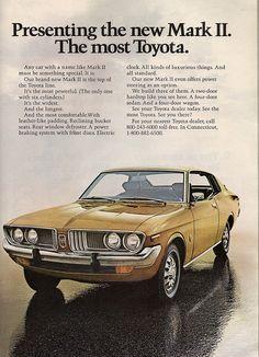 American Market Toyota Mark II, 1972