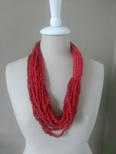 FREE Crochet Pattern: Chain Necklace Cowl | The Steady Hand
