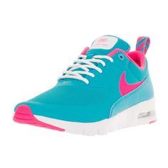 2d1fa8b7d216 Big Girls Shoes · Nike Kids Air Max Thea (GS) Gamma Blue Pink Blast White  Running