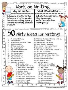 Awesome writing folder freebie!
