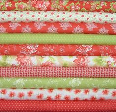 Somerset Fat Quarter Bundle of 10 by Fig by SistersandQuilters