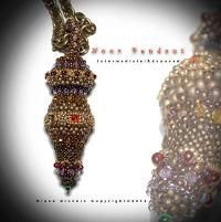 Bead pattern - Noor pendant