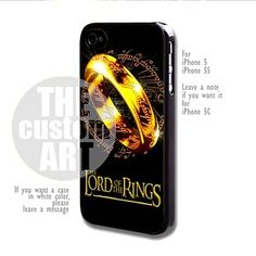 Lord Of The Rings - For iPhone 5,5s NOTE for iPhone 5C | TheCustomArt - Accessories on ArtFire