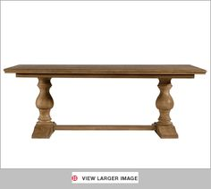 Universal Furniture Dining Table Farmhouse UF023756 - Universal Furniture - Casual Dining Room Sets -