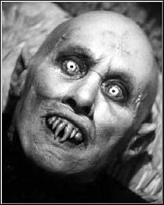Kurt Barlow, Master Vampire (played by) Reggie Nalder in  Stephen King's Salem's Lot (1979 TV miniseries) directed by Tobe Hooper.  #vampyr #salemslot #horror
