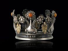Rare Georg Jensen bridal crown,1911