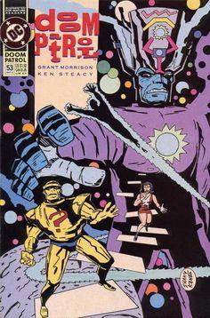 Doom Patrol #53 - And Men Shall Call Him -- Hero! (Issue)