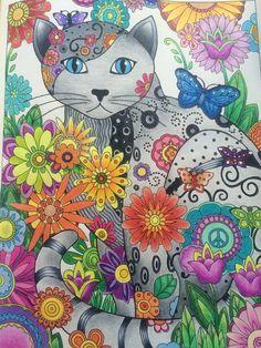 #livrosdecorir #coloringbooks Série - Gatos