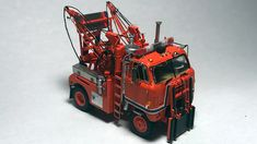 International Tow Truck - By Tom Hart Snow Plow, Toy Trucks, Ho Scale, Home Photo, Legos, Scale Models, Boats, Photo Galleries, Ford
