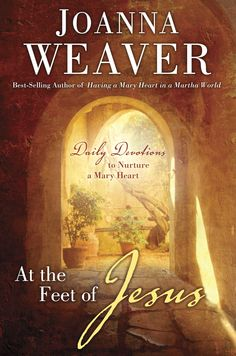 At the Feet of Jesus by Joanna Weaver...What do I think of this devotional? I think It is one that I will enjoy for many years to come. I like to rotate devotionals, using a different one each year. I will be using At the Feet of Jesus in 2013 as a part of my daily devotions.I also like that there is a daily Bible reading guide in the back of the book.    **At the Feet of Jesus by Joanna Weaver was provided for me free by Litfuse Publicity Group in exchange for my honest review.