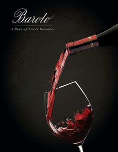 Barolo Wine Ad - design by Anita Bukhtia #wine #advertisement