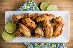 Baked Margarita Chicken Wings - Don't like wings, but it would be good with thighs/legs instead.