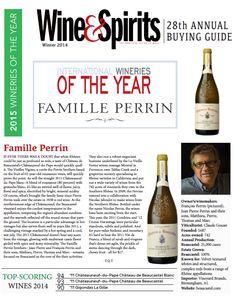 International Winery of the Year - Famille #Perrin - Château de #Beaucastel - Coudoulet de Beaucastel - #LaVieilleFerme