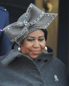 Aretha Franklin'sfabulous Luke Song hat worn at Obama's Inauguration - an instant classic!