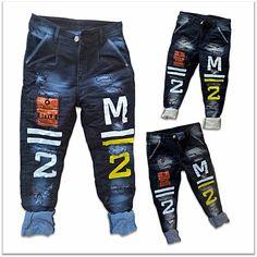 DVG Wholesale - Printed Funky Jeans For Men's 2 colours Set. Torn Jeans, Denim Jeans Men, Stylish Jeans For Men, Denim Joggers, Kids Pants, Denim Outfit, Colour Set, Buy Wholesale, Wardrobe Design