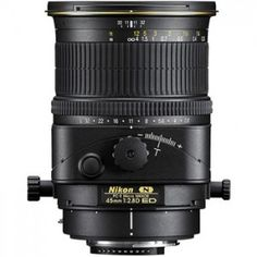Nikon PC-E Micro Nikkor 45mm f/2.8D ED Manual Focus Lens The medium focal length of Nikon's three perspective control (tilt-shift) lenses, the PC-E Micro NIKKOR 45mm f/2.8D ED delivers a standard angle of view plus a 1:2 reproduction ratio. visit us: http://www.fushanj.com/