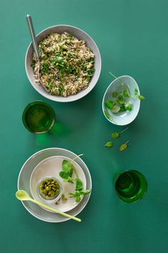Riz Basmati aux herbes ©Fraise & Basilic