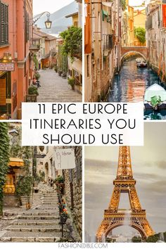 Europe Travel Inspiration Europa Reise Inspiration – New Ideas Europe Destinations, Best Places In Europe, Travel Europe Cheap, Europe Travel Guide, Travel Info, Traveling Europe, Best Places To Travel, Cool Places To Visit, Travel
