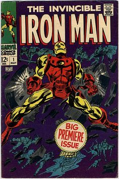 THE INVINCIBLE IRON MAN #1 !!!!
