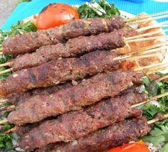 Grilled Kafta Kebabs | Hadia's Lebanese Cuisine