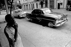 LOS CHOCHES DE RUAN ROQUESO Havana-Cuba 1997 Fotografia p&b - 40x60cm