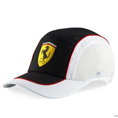 Czapka Ferrari Sport Cap - White | FERRARI ACCESSORIES | Fbutik | Scuderia Ferrari Collection
